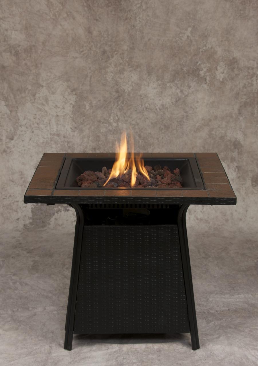 Small Brick Propane Fire Pit
