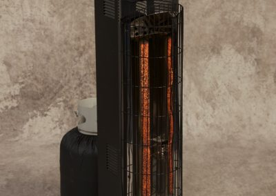 Low Profile Occilating Heater