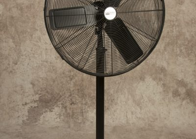 "Black 30"" Pedestal Fan"