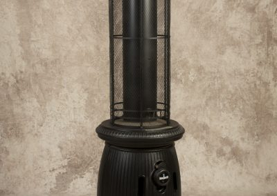 Black Pot Belly Stove Pipe Heater