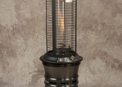 Gunmetal Pot Belly Torch Fire Heater