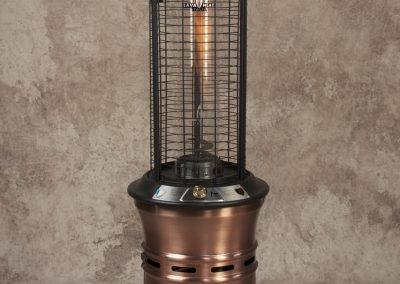 Copper Pot Belly Torch Fire Heater