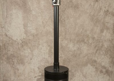 Jet Black Patio Heater