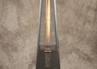 Stainless Steel Pyramid Torch Fire Heater