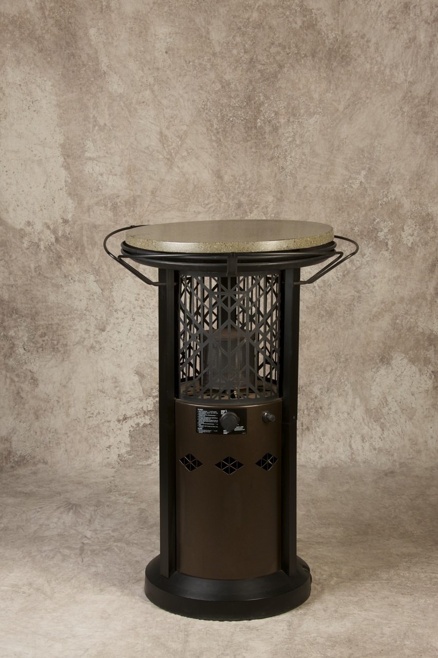 Bronze Bistro Table Heater